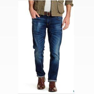 Hudson slim straight cut jeans